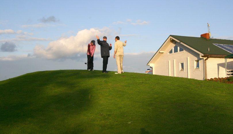 Golfen som nöje och nytta